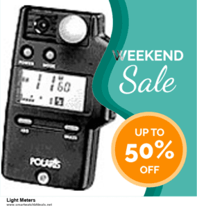 List of 10 Best Black Friday and Cyber Monday Light Meters Deals 2020