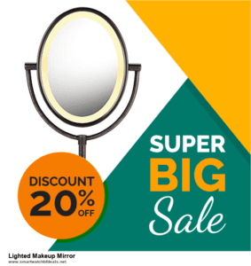7 Best Lighted Makeup Mirror Black Friday 2020 and Cyber Monday Deals [Up to 30% Discount]