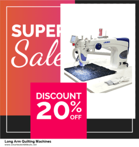 10 Best Black Friday 2020 and Cyber Monday  Long Arm Quilting Machines Deals | 40% OFF