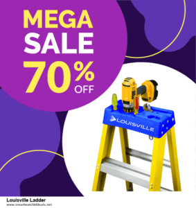List of 10 Best Black Friday and Cyber Monday Louisville Ladder Deals 2020
