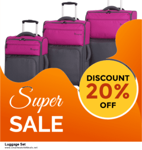 13 Best Black Friday and Cyber Monday 2020 Luggage Set Deals [Up to 50% OFF]