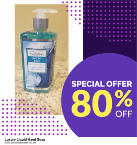 List of 10 Best Black Friday and Cyber Monday Luxury Liquid Hand Soap Deals 2020