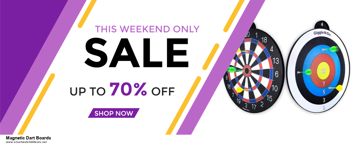 10 Best Black Friday 2020 and Cyber Monday Magnetic Dart Boards Deals | 40% OFF