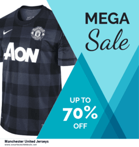 List of 6 Manchester United Jerseys Black Friday 2020 and Cyber MondayDeals [Extra 50% Discount]