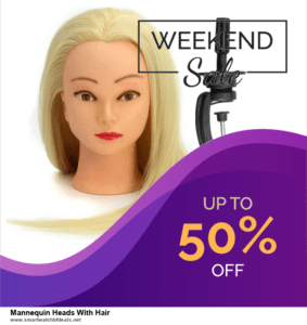 Top 5 Black Friday 2021 and Cyber Monday Mannequin Heads With Hair Deals [Grab Now]
