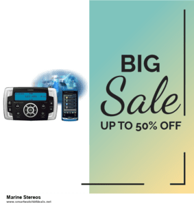 6 Best Marine Stereos Black Friday 2020 and Cyber Monday Deals | Huge Discount