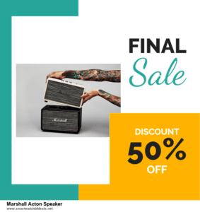 List of 10 Best Black Friday and Cyber Monday Marshall Acton Speaker Deals 2020