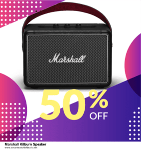9 Best Marshall Kilburn Speaker Black Friday 2020 and Cyber Monday Deals Sales