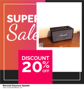 7 Best Marshall Stanmore Speaker Black Friday 2020 and Cyber Monday Deals [Up to 30% Discount]