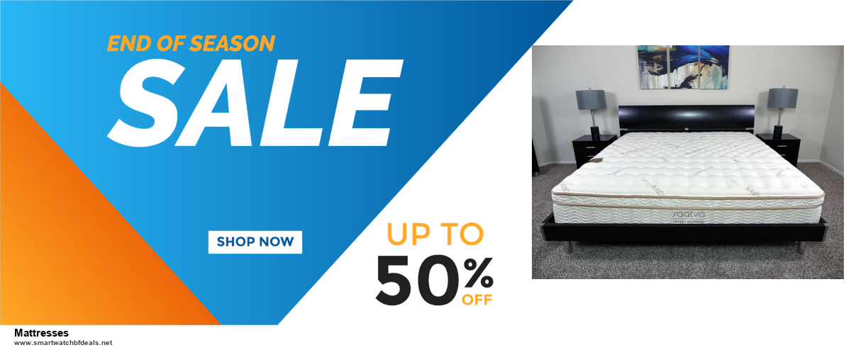 13 Best Black Friday and Cyber Monday 2020 Mattresses Deals [Up to 50% OFF]