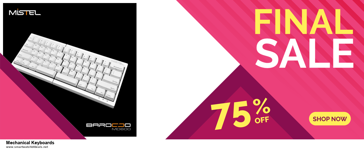 Top 5 Black Friday 2020 and Cyber Monday Mechanical Keyboards Deals [Grab Now]