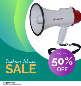 7 Best Megaphones Black Friday 2020 and Cyber Monday Deals [Up to 30% Discount]