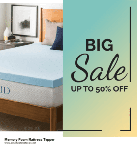 9 Best Black Friday and Cyber Monday Memory Foam Mattress Topper Deals 2020 [Up to 40% OFF]