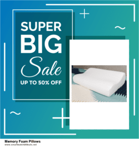 Top 11 Black Friday and Cyber Monday Memory Foam Pillows 2020 Deals Massive Discount