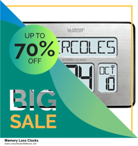 13 Exclusive Black Friday and Cyber Monday Memory Loss Clocks Deals 2020