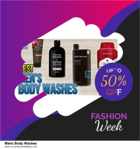 13 Exclusive Black Friday and Cyber Monday Mens Body Washes Deals 2020