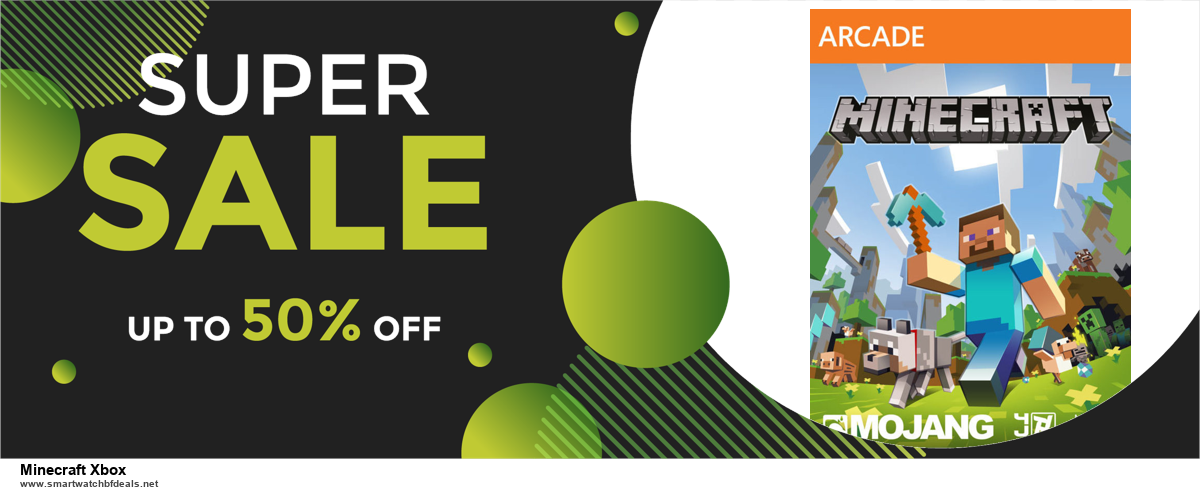 Top 11 Black Friday and Cyber Monday Minecraft Xbox 2020 Deals Massive Discount