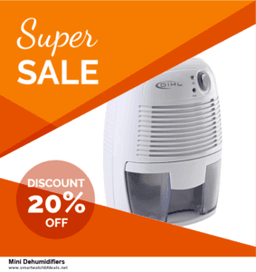 7 Best Mini Dehumidifiers Black Friday 2020 and Cyber Monday Deals [Up to 30% Discount]