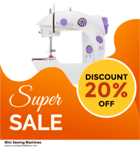13 Exclusive Black Friday and Cyber Monday Mini Sewing Machines Deals 2020