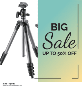 10 Best Black Friday 2020 and Cyber Monday  Mini Tripods Deals   40% OFF