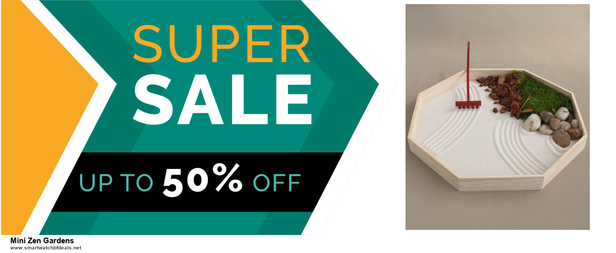 9 Best Black Friday and Cyber Monday Mini Zen Gardens Deals 2020 [Up to 40% OFF]
