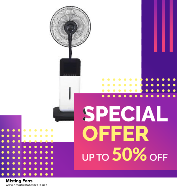 List of 6 Misting Fans Black Friday 2020 and Cyber MondayDeals [Extra 50% Discount]
