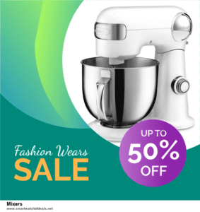 Top 5 Black Friday 2021 and Cyber Monday Mixers Deals [Grab Now]