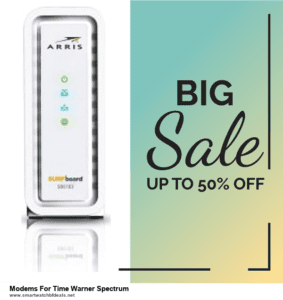 Top 5 Black Friday 2020 and Cyber Monday Modems For Time Warner Spectrum Deals [Grab Now]