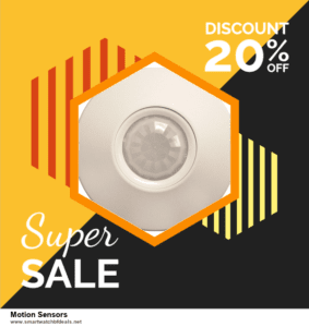 7 Best Motion Sensors Black Friday 2020 and Cyber Monday Deals [Up to 30% Discount]