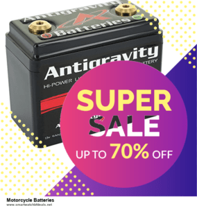 Top 10 Motorcycle Batteries Black Friday 2020 and Cyber Monday Deals