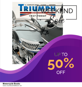 7 Best Motorcycle Books Black Friday 2020 and Cyber Monday Deals [Up to 30% Discount]