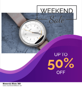 5 Best Motorola Moto 360 Black Friday 2020 and Cyber Monday Deals & Sales