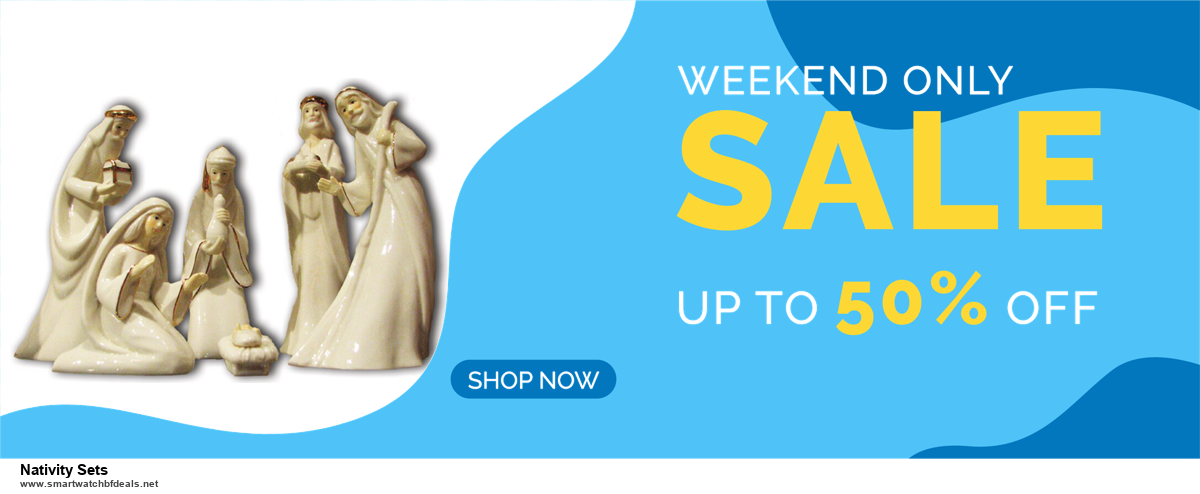 13 Best Black Friday and Cyber Monday 2020 Nativity Sets Deals [Up to 50% OFF]