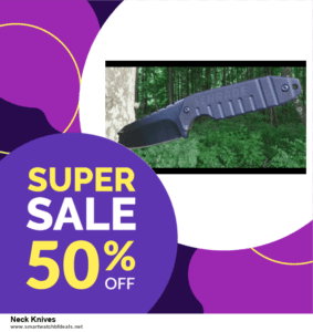 10 Best Neck Knives Black Friday 2020 and Cyber Monday Deals Discount Coupons