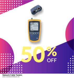 9 Best Black Friday and Cyber Monday Network Cable Testers Deals 2021 [Up to 40% OFF]