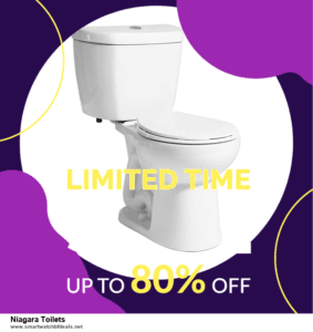 List of 6 Niagara Toilets Black Friday 2020 and Cyber MondayDeals [Extra 50% Discount]