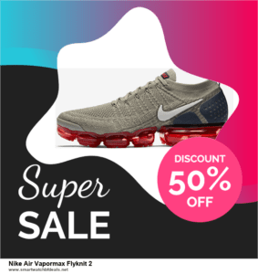 5 Best Nike Air Vapormax Flyknit 2 Black Friday 2020 and Cyber Monday Deals & Sales