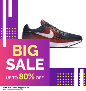 9 Best Black Friday and Cyber Monday Nike Air Zoom Pegasus 34 Deals 2020 [Up to 40% OFF]