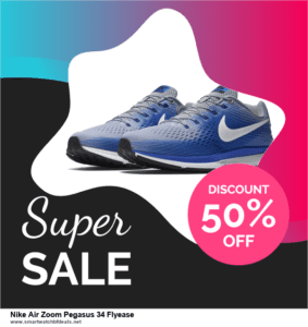 9 Best Nike Air Zoom Pegasus 34 Flyease Black Friday 2020 and Cyber Monday Deals Sales