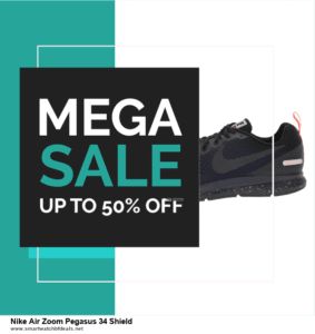 10 Best Nike Air Zoom Pegasus 34 Shield Black Friday 2020 and Cyber Monday Deals Discount Coupons