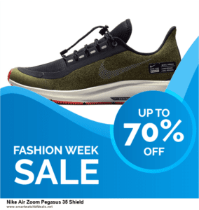13 Best Black Friday and Cyber Monday 2020 Nike Air Zoom Pegasus 35 Shield Deals [Up to 50% OFF]