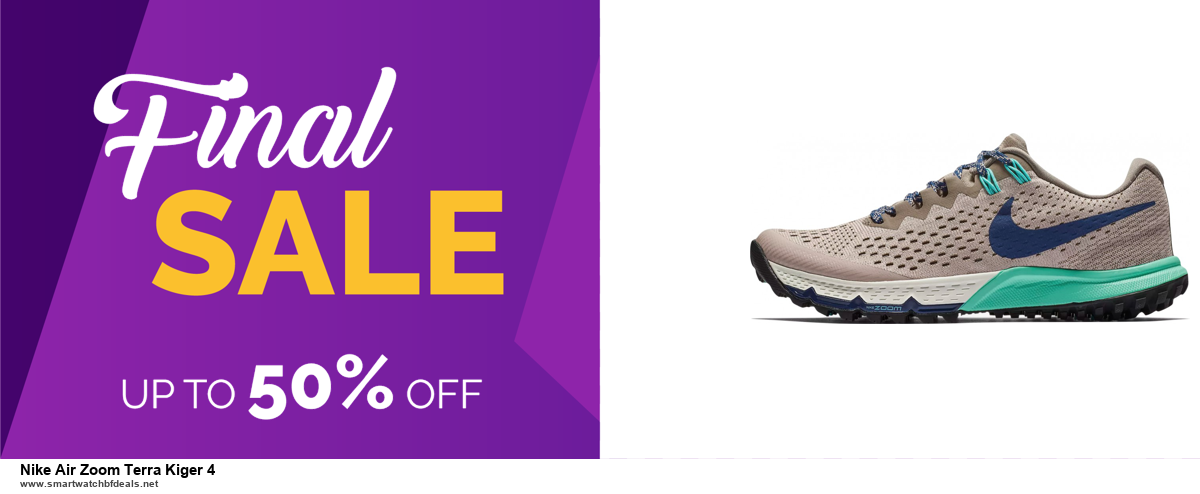9 Best Black Friday and Cyber Monday Nike Air Zoom Terra Kiger 4 Deals 2020 [Up to 40% OFF]