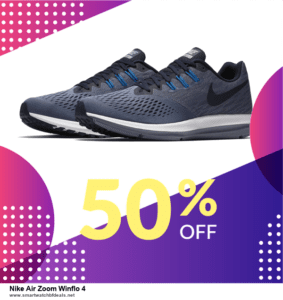 Top 10 Nike Air Zoom Winflo 4 Black Friday 2020 and Cyber Monday Deals