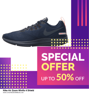 9 Best Nike Air Zoom Winflo 4 Shield Black Friday 2020 and Cyber Monday Deals Sales