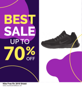 Top 10 Nike Free Rn 2018 Shield Black Friday 2021 and Cyber Monday Deals