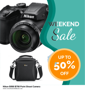 9 Best Nikon B500 B700 Point Shoot Camera Black Friday 2020 and Cyber Monday Deals Sales