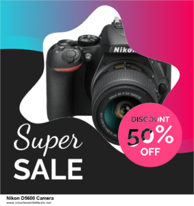 List of 6 Nikon D5600 Camera Black Friday 2020 and Cyber MondayDeals [Extra 50% Discount]