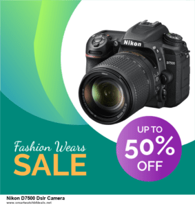 13 Best Black Friday and Cyber Monday 2020 Nikon D7500 Dslr Camera Deals [Up to 50% OFF]