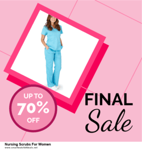 List of 6 Nursing Scrubs For Women Black Friday 2020 and Cyber MondayDeals [Extra 50% Discount]