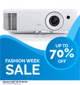 13 Best Black Friday and Cyber Monday 2020 Optoma Hd27 3D Projector Deals [Up to 50% OFF]